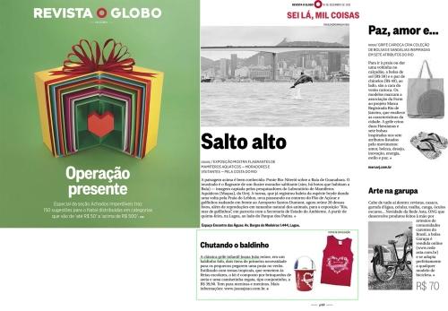 1612 - O Globo - revista O Globo - sei la mil coisas