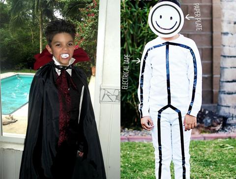 fantasia vampiro e boneco