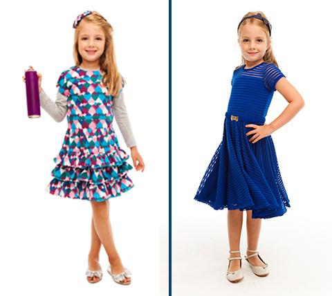 meninas vestidos